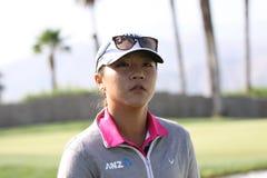 阿那启发高尔夫球比赛的丽迪雅Ko 2015年 库存图片