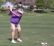 阿那启发高尔夫球比赛的劳拉戴维斯2015年 库存图片