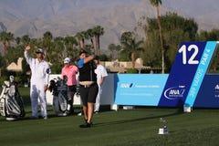 阿那启发高尔夫球比赛的卡罗琳Hedwall 2015年 免版税库存照片