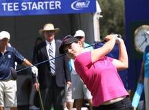 阿那启发高尔夫球比赛的卡罗琳Masson 2015年 免版税库存图片