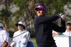 阿那启发高尔夫球比赛的安娜Nordqvist 2015年 库存图片