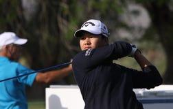 阿那启发高尔夫球比赛的曾雅妮2015年 库存照片