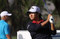阿那启发高尔夫球比赛的曾雅妮2015年 免版税库存图片