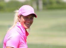 阿那启发高尔夫球比赛的苏珊娜Pettersen 2015年 免版税图库摄影