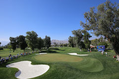 阿那启发高尔夫球比赛的高尔夫球场2015年 免版税库存照片