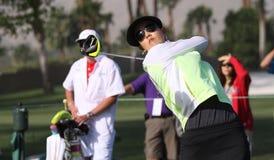 阿那启发高尔夫球比赛的魏圣美2015年 库存照片