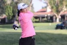 阿那启发高尔夫球比赛的龚怡萍2015年 免版税库存照片