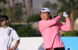 阿那启发高尔夫球比赛的龚怡萍2015年 库存照片