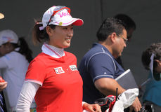 阿那启发高尔夫球比赛的Chella崔2015年 免版税库存照片