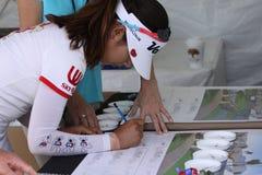 阿那启发高尔夫球比赛的Chella崔2015年 免版税库存图片