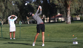 阿那启发高尔夫球比赛的Kris Tamulis 2015年 免版税库存图片