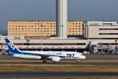 阿那JA812A梦想787 库存照片