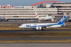阿那JA810A梦想787 图库摄影