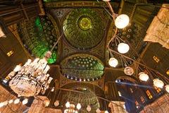 阿里・开罗埃及默罕默德清真寺 库存照片