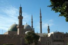 阿里・开罗埃及mohamed清真寺 免版税图库摄影