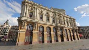 阿里亚加剧院,普遍的地方杰作门面利益在毕尔巴鄂 股票视频