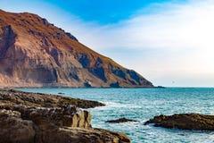 阿里卡智利海岸线 免版税库存照片