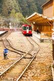 阿里山火车 库存照片