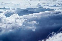 阿里山范围 免版税库存图片