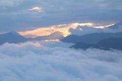 阿里山,台湾- 2015年4月13日 免版税图库摄影