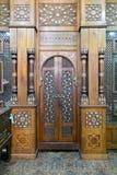 阿里阿布格莱布ElShebak, AlRefai清真寺回教族长寺庙的门  图库摄影