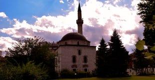 阿里・帕夏・塔帕雷奈清真寺在萨拉热窝 免版税库存图片
