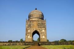 阿里Barid Shah,比德尔,卡纳塔克邦国家坟茔的印度 免版税库存照片