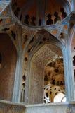 阿里Qapu宫殿美好的内部,一个盛大宫殿在伊斯法罕 免版税图库摄影