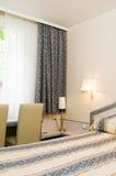 阿雅克修可西嘉岛法国旅馆内部空间 库存图片