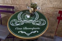 阿雅克修,城堡,可西嘉岛, Corse du Sud,南可西嘉岛,法国,欧洲 图库摄影