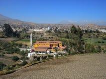 阿雷基帕,秘鲁看法  图库摄影