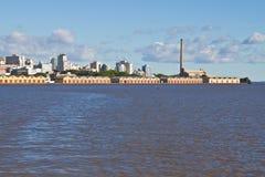 阿雷格里港口岸-南里奥格兰德州-巴西 免版税库存照片