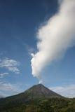 阿雷纳尔格斯达里加火山 图库摄影