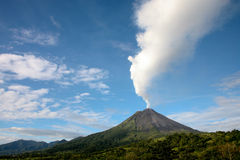 阿雷纳尔格斯达里加火山 库存照片