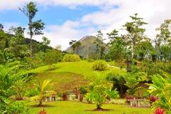 阿雷纳尔格斯达里加火山 库存图片
