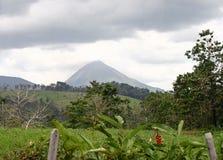 阿雷纳尔格斯达里加火山 免版税库存照片