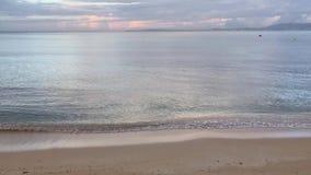 阿雷纳尔海滩在早晨 股票视频