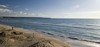 阿雷纳尔海滩le 库存照片