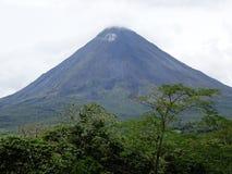 阿雷纳尔火山哥斯达黎加 免版税图库摄影