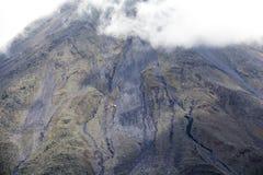 阿雷纳尔火山视图在哥斯达黎加 库存图片