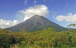 阿雷纳尔火山,哥斯达黎加 库存图片