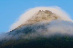 阿雷纳尔火山 免版税库存图片
