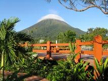 阿雷纳尔火山 免版税图库摄影
