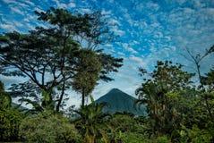 阿雷纳尔Volcan 免版税图库摄影