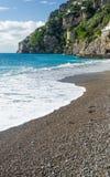 阿马尔菲海岸-波西塔诺 免版税库存照片