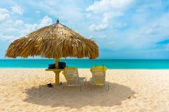 阿鲁巴,加勒比岛,小安的列斯群岛 库存图片