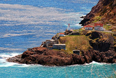 阿默斯特堡垒纽芬兰 库存照片