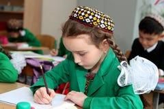 阿什伽巴特,土库曼斯坦- 2014年11月4日 unkn的画象 图库摄影