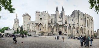 阿维尼翁教皇宫殿 免版税库存图片