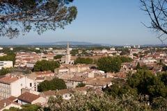 阿维尼翁的历史中心 免版税库存照片